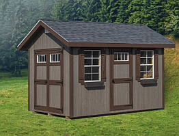 Деревянные хозблоки в скандинавском стиле от производителя. Scandinavian style barns - 02