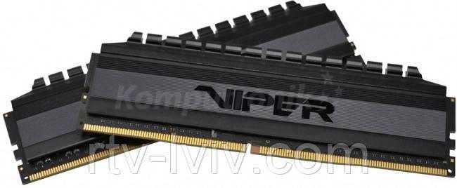 Patriot Viper Blackout 16GB [2x8GB 4000MHz DDR4 CL19 DIMM]