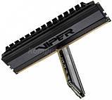 Patriot Viper Blackout 16GB [2x8GB 4000MHz DDR4 CL19 DIMM], фото 3