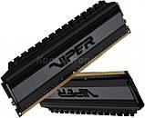 Patriot Viper Blackout 16GB [2x8GB 4000MHz DDR4 CL19 DIMM], фото 4