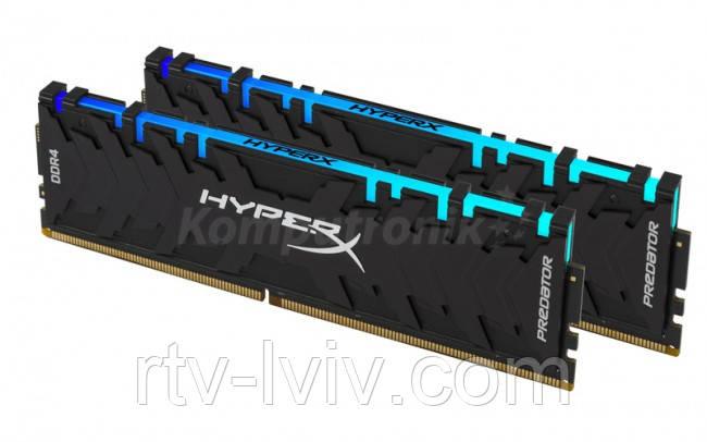 HyperX Predator RGB 16GB [2x8GB 2933MHz DDR4 CL15 XMP DIMM]