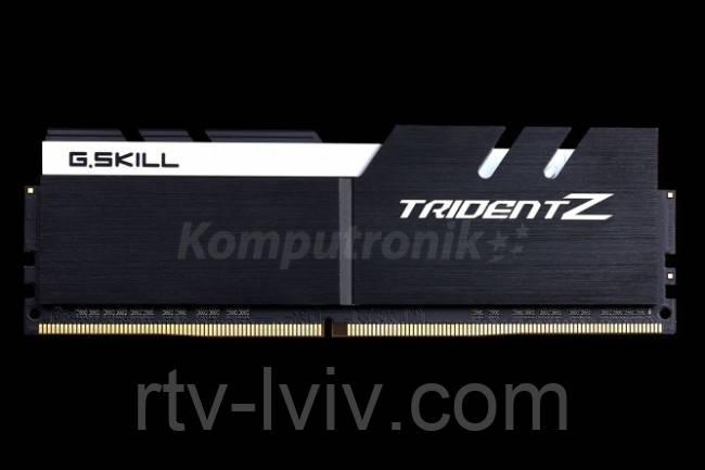 G.SKILL Trident Z 16GB Black [2x8GB 4000MHz DDR4 CL19 XMP2 DIMM]