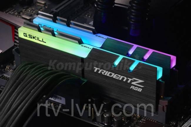 G.SKILL Trident Z RGB 16GB [2x8GB 3600MHz DDR4 CL16-16-16 XMP2 DIMM]
