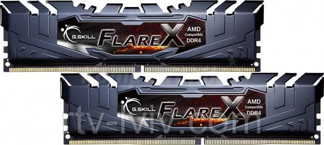 G.SKILL Flare X 32GB [2x16GB 3200MHz DDR4 CL16 1.35V XMP 2.0 DIMM]