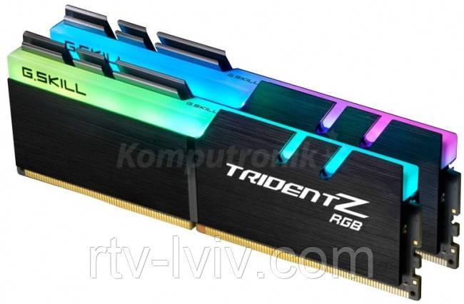 G.SKILL Trident Z RGB 32GB [2x16GB 3200MHz DDR4 CL16 1.35V XMP 2.0 DIMM]