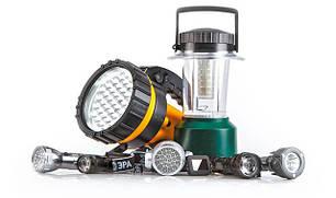 Светильники, фонари и лампы