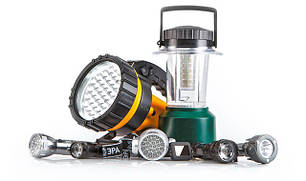 Світильники, ліхтарі і лампи