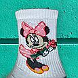 Носки Минни Маус белые размер 40-44, фото 5