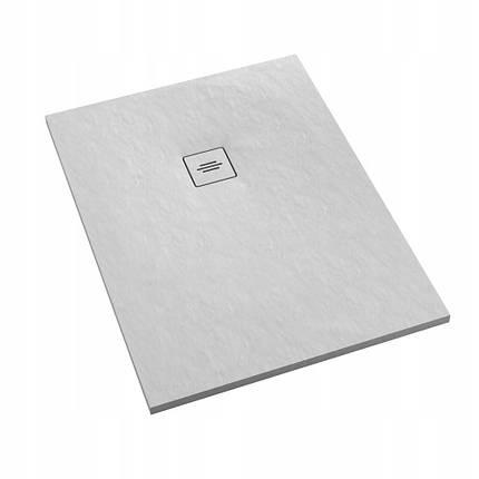 Поддон для душа Schedpol Schedline PROTOS White Stone 100x90 см, фото 2