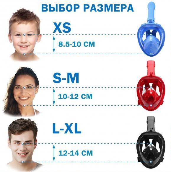 маска для ныряния