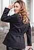 Короткое кашемировое женское пальто, черный, бежевый, темно-синий, бордовый, 42/44/46/48, фото 9