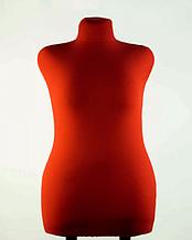 Манекен брючный портновский красный модель Любовь, 52 размер
