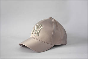 Жіноча бейсболка NY атласна