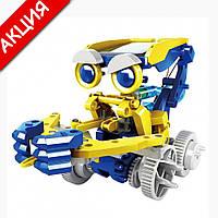 Конструктор робот на солнечной батарее Solar Robot 11 в 1 Развивающий набор игрушка для детей от 8 лет