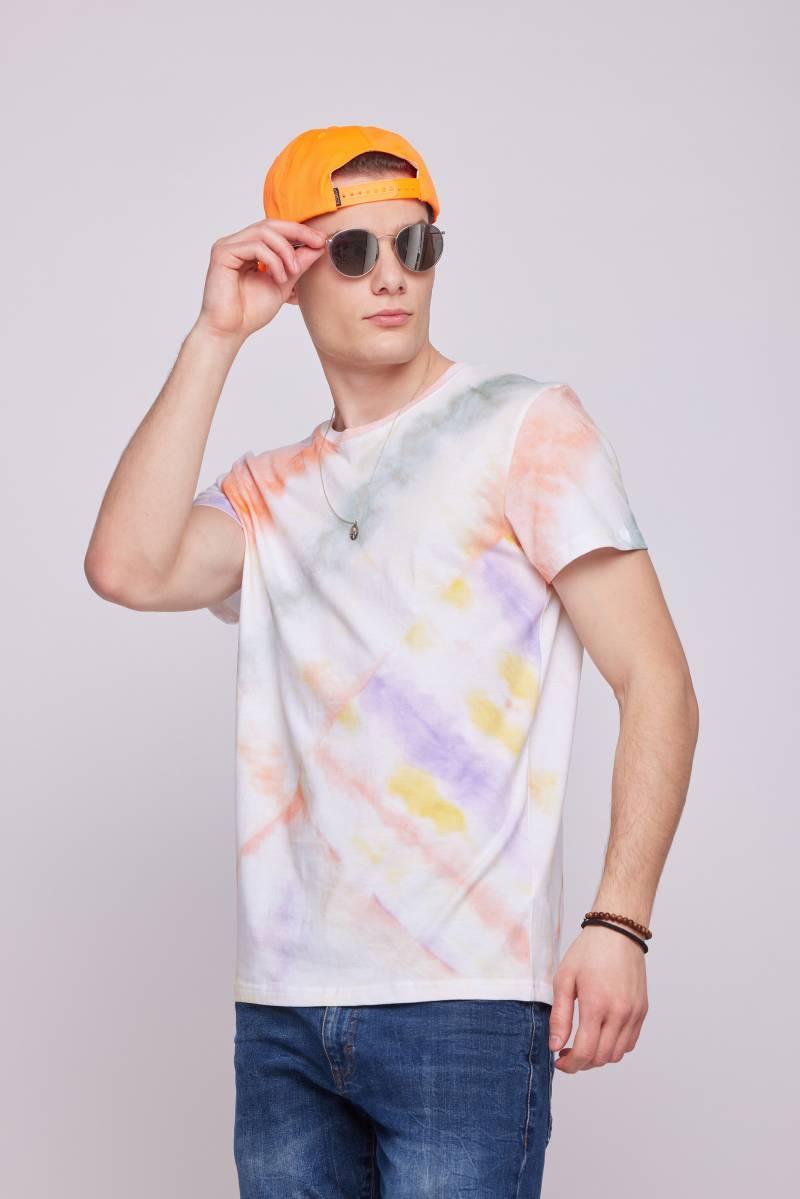 Чоловіча футболка з стилі тай дай