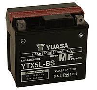 Мото аккумулятор YUASA YTX5L-BS