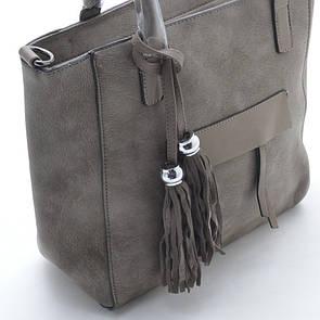 Украшение на сумку Brushes серебро, хаки