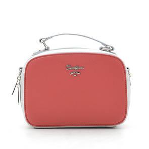 Клатч David Jones CM5016 red/silver
