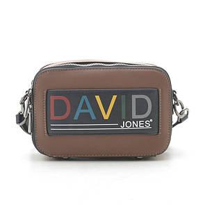 Клатч женский David Jones 6138-1 brown/cognac