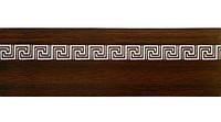 Декоративная лента меандр -орех 5см
