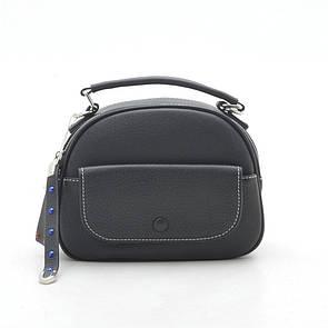 Женский клатч 2061 leather чорный