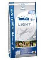Корм для взрослых собак всех пород Бош Лайт 1кг, Bosch, новый