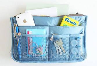 Органайзер в сумку Bag in bag  (голубой)
