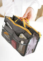 Органайзер в сумку Bag in bag  (серый)