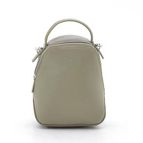 Клатч-рюкзак mini David Jones 5705-2 хаки