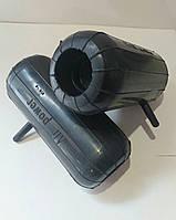 Пнебмобаллоны 200×85 з одностороним поглибленням бічна підкачка Пневматичний балон всередину пружини, фото 1