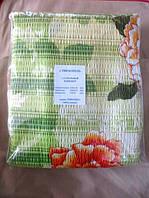 Постельное белье двуспальное жатка ТИРОТЕКС с цветами