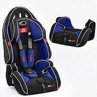 Универсальное автокресло для ребенка G 2010 цвет чёрно-синий, группа 1/2/3, 9-36 кг, фото 1