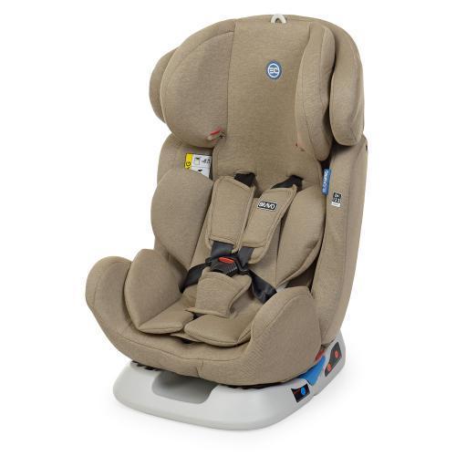 Автокресло детское для ребенка ME 1042 BRAVO Beige (0-36 кг) Бежевый