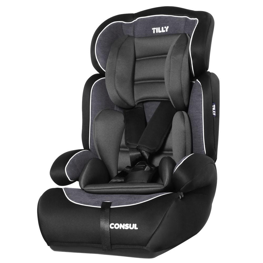 Дитяче автомобільне крісло TILLY Consul T-531/2 Black, група 1-2-3