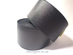 Резинка  взуттєва 60 мм, кол. чорний блиск