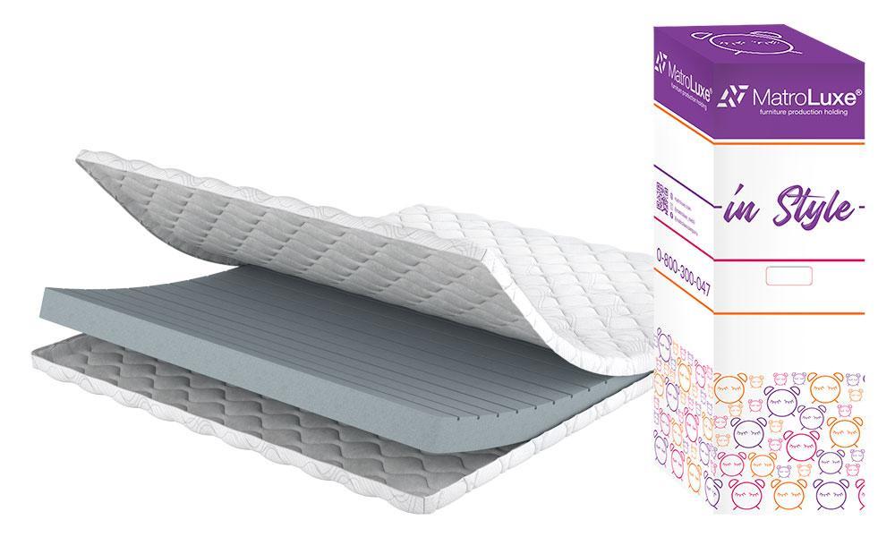 Матрас на диван 12 см Матролюкс Контент в коробке 70x190 см