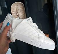 Белые кроссовки со шнуровкой Shein  , размер 36, стелька 22