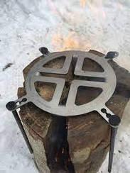 Фінська свіча 31*31см 1.2мм чорний мет