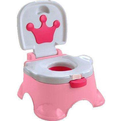 Музыкальный Королевский горшок для девочки АНАЛОГ Fisher-Price 68011, розовый