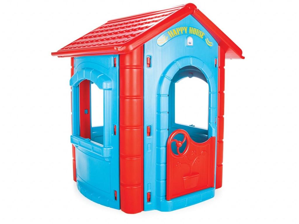 Дитячий ігровий будиночок для будинку або вулиці дітям від 1 до 7 років, Pilsan 06-098 (висота 130 см), колір