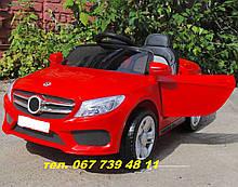 Детский электромобиль  Мерседес M 2772 EBLR -3 красный