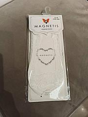 Слідки жіночі білого кольору, мереживні ТМ Magnetis. 36-40