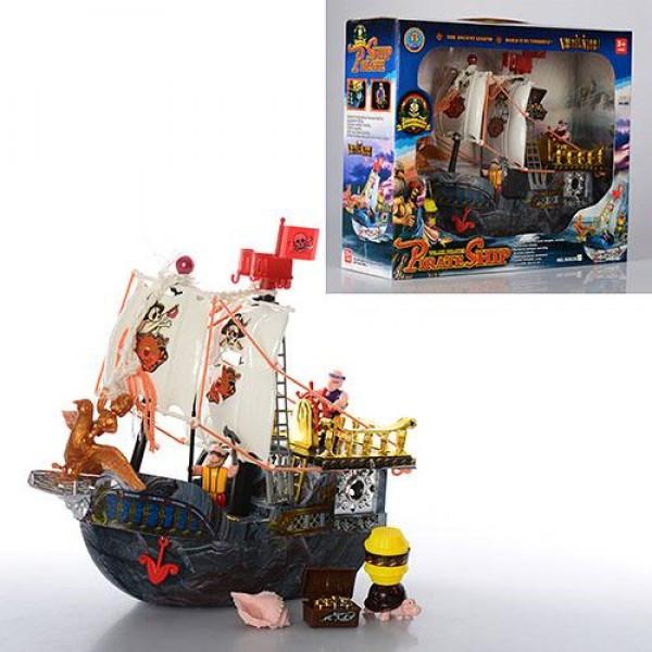 Дитячий ігровий Піратський корабель 50828D в комплекті з фігурками піратів і аксесуарами