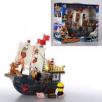 Дитячий ігровий Піратський корабель 50828D в комплекті з фігурками піратів і аксесуарами, фото 1