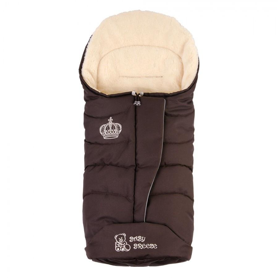 Конверт на овечої вовни Baby Breeze 0358 (шоколад)