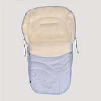 Зимний конверт Baby Breeze 0306 (серо-голубой)