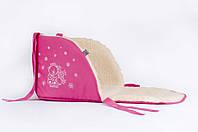 Матрасик для санок Baby Breeze 0301 (малина), фото 1