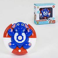 Іграшка для ванної, водоплавний слоник з фонтаном SL 87031 працює від батарейок