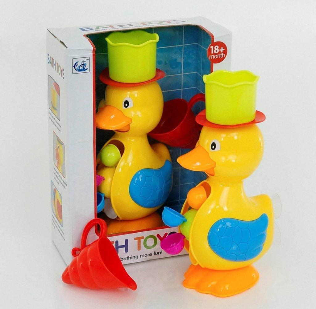 """Детская водяная мельница игрушка водопад для ванной """"Утенок"""" 9902"""