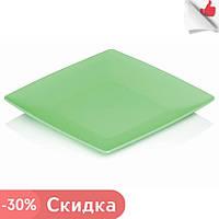 """Набор 6 шт Тарелка квадратная 240х240х20 мм плоская из пищевого пластика «Ucsan Plastik». """"Gr"""""""